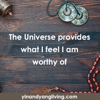 OM Message: Universe Provides What I am Worthy Of
