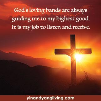 OM Message: God's Loving Hands