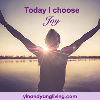 OM Message: I Choose Joy
