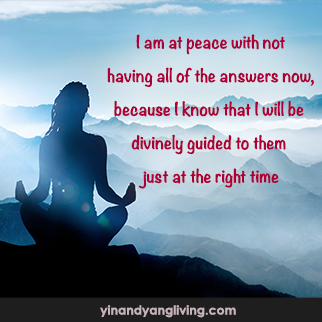 OM Message: Answers Divinely Guided