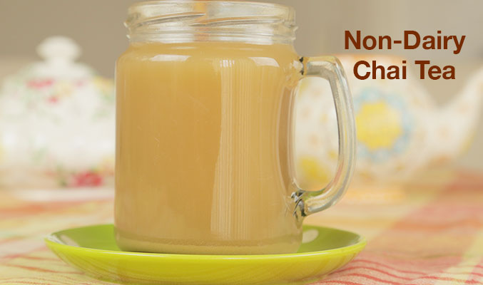 Non-Dairy Chai Tea for the Holidays