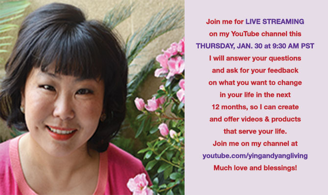 Live Streaming this THURSDAY, JAN 30 at 9:30 AM PST