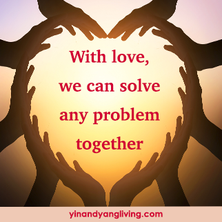 OM Message: Love Solves All Problems