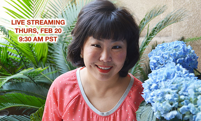 Live Streaming on THURS, FEB 20