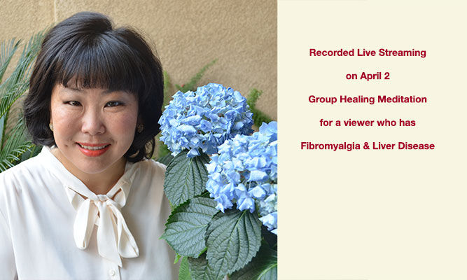 Group Healing Meditation for viewer with fibromyalgia and liver disease