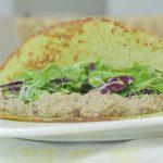 Vegan Gluten Free Black Bean Chipotle Hummus Tortilla