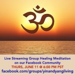 Group Healing Meditation on JUNE 11