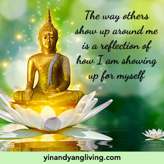 OM Message: Show up Reflection