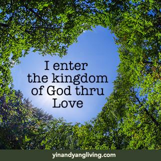 OM Message: Kingdom of God thru Love