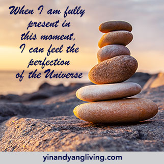 Om Message: Fully present