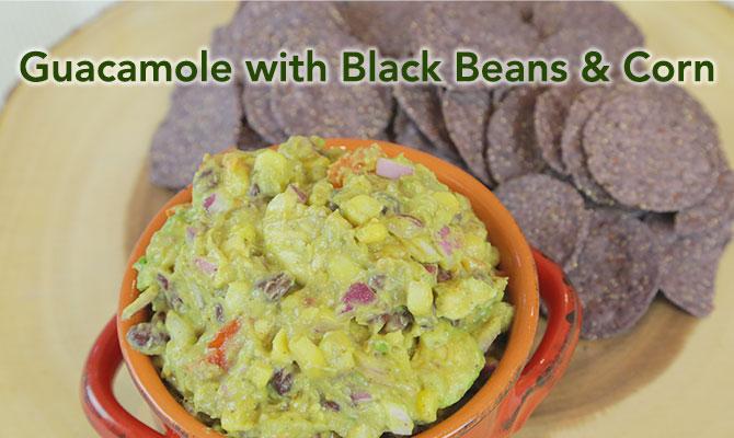 Guacamole with Black Bean & Corn