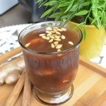 Cool Cinnamon Ginger with Dried Figs Dessert Drink