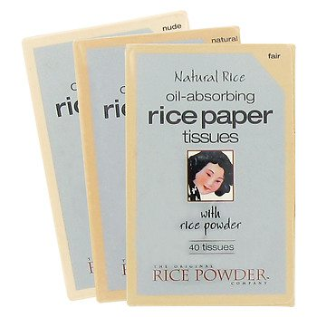 Rice Paper for your Oily Summer Skin!