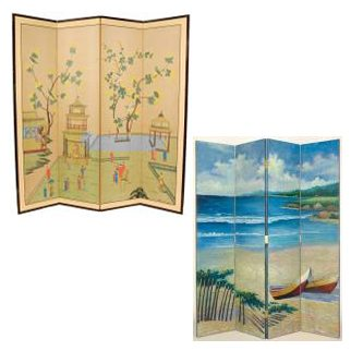 Folding Screens to Divide and Decorate your Space