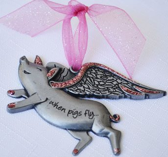 """""""When Pigs Fly"""" Christmas Gift"""